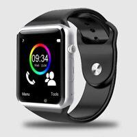 A1 Reloj de Pulsera Bluetooth Smart Deporte Podómetro Smartwatch para Android