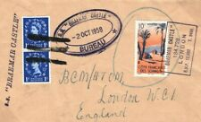 SS *Braemar Castle* French Somaliland Franking GB 1958 {samwells-covers} MC110
