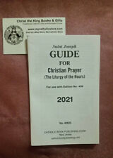 St Joseph 2021 Guide For Christian Prayer For Use With #406 By Catholic Book Pub