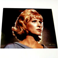 MAJEL BARRETT /NURSE CHRISTINE CHAPEL Star Trek COLOR PHOTOGRAPH 8x10 TOS 40 Yrs