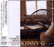 KENNY G-MY FAVORITE THINGS STANDARDS BEST-JAPAN ONLY CD F30