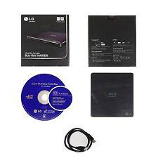 LG BP50NB40 Portable External Slim Blu-ray M-Disc DVD CD Dual Layer Drive Burner