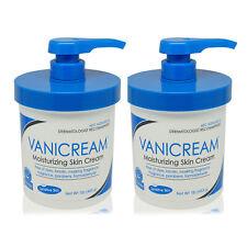 2 x Vanicream • Moisturizing Skin Cream with Pump Dispenser • 16 oz • AUTHENTIC