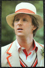 DOCTOR WHO POSTER . PETER DAVISON - THE VISITATION . P18