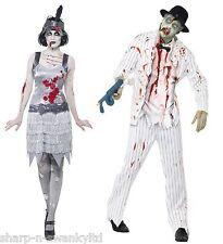 Costumi e travestimenti horror bianchi per carnevale e teatro da donna