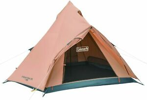 Coleman Excursion Teepee 325  Tent Camp Outdoor for 3 to 4 People 2000031572
