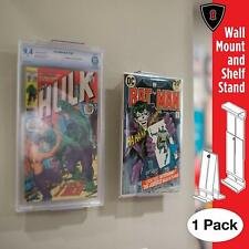 Collector Mount Comic Book Frame, Wall Mount and Shelf Stand, Invisible