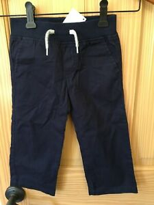 NWT Gymboree Boys Pull on Pants Navy Blue Pants Outlet Many Sizes