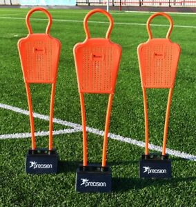 FOOTBALL MANNEQUINS - SET OF 3 - PRECISION TRAINING  4FT - BASES SOLD SEPARATELY