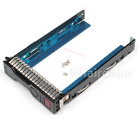 "651314-001 3.5"" HDD Drive Caddy Tray For HP Gen8 ProLiant DL380p DL360p DL385 G8"