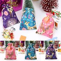 Gift Bag Baby Toys Storage Bags Drawstring Bundle Storage Christmas Holder Bags-