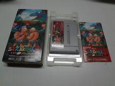 Tatakae Genshijin 3 / Joe And Mac 3 Nintendo Super Famicom Japan VGOOD