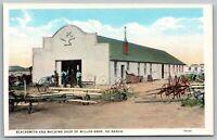 Ponca City Oklahoma~Miller Bros 101 Ranch~Blacksmith & Machine Shop~Workmen~1919
