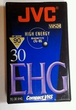 JVC30 EHG Compact VHS Tape  New  High Energy