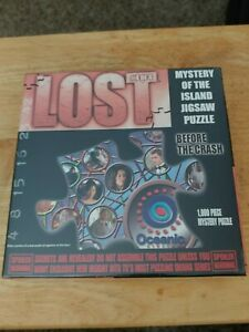 Lost Mystery of the Island Jigsaw Puzzle Before the Crash, 4 of 4, rare, new