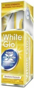 White Glo Smokers Formula Tobacco Stains Remove Whitening Toothpaste 150g