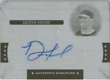 Destin Hood 2008 Razor Rookie Autograph Press Plate Auto RC 1/1