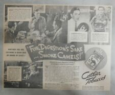 Camel Cigarette Ad: Golf Champ Tony Manero from 1936 Size: 10 x 12 inches