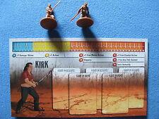 Zombicide Kickstarter Season 2 Kirk Promofigur Survivor