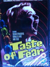 TASTE OF FEAR - UK DVD Region 2 - OOP - Christopher Lee, Susan Strasberg - OOP