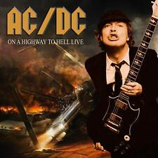 NEW 10 CD set- AC / DC -  ON A HIGHWAY TO HELL LIVE   - UK Import - 1974 - 1988