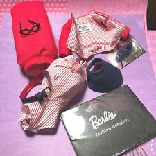 Barbie Vintage Repro 1995 VERSION BUSY GAL Fashion $ All Accessories's EUC  New