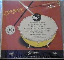 "Mario Del Monaco: Verdi Operatic Arias    10"" London"