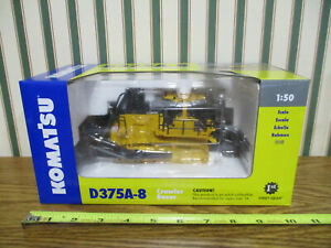 Komatsu D375A-8 Dozer With Blade & Ripper By First Gear 1/50th Scale