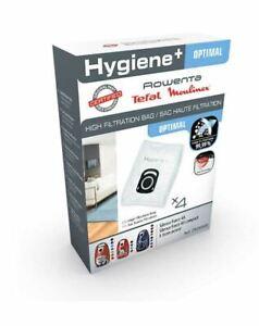 Sacchetti Rowenta Silence Force 4A Hygiene + ZR200520 ORIGINALI 4 sacchetti