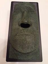 New listing Tissue Box Holder Dispenser Face Of Easter Island Moai Tiki