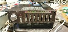Vintage Clarion 180 EQB 7 band Graphic equalizer EQ Booster 4x18w VU meter Fader