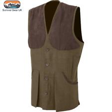 Jack Pyke Moleskin Vest Brown Gilet Waistcoat Country Hunting/Shooting/Fishing