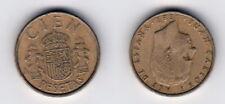100 Pesetas 1983 Spanien - sehr edle Original Münze - B100