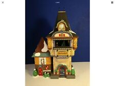 Dept 56 Alpine Village Glockenspiel Animated Music Box w/ box Combine Shipping!