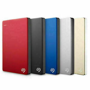"2.5"" SEAGATE Backup Plus SLIM Mobile Portable External Hard Drive Disk PS4 PS5"