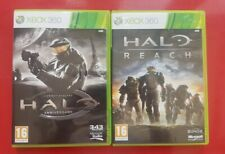 Halo Reach and Halo Anniversary CE for Microsoft Xbox 360 FREE POST!