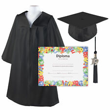 Class Act Graduation Kindergrad Shiny Kindergarten Graduation Cap And Gown With