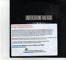 (DP206) Underground Railroad, Russian Doll - 2011 DJ CD