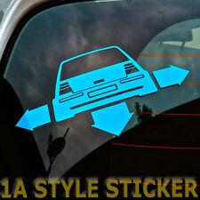 Low Rider sticker flechas de ancho y profundo Golf GTI 4 20 V turbo Syncro 4 Motion