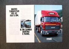 [GCG] I686- Advertising Pubblicità - 1984 - NUOVO TURBOSTAR 190-42 FIAT OM