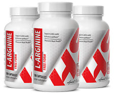L-Arginine Sport Edition. Protein Synthesis, Amino Acids (3 Bottles) Free Ship.