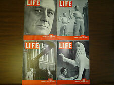 LIFE MAGAZINES 1937 , All 52 Issues for 1937