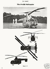 KAMAN H-43B HUSKIE FIRE FIGHTING HELICOPTER TO 1H-43B-1