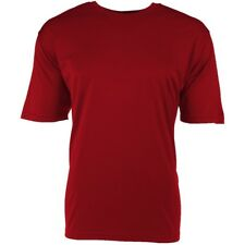 NEW Dri-Fit Polyester Men's T-Shirt [Red, Large]