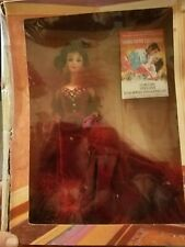 """Scarlett O'Hara Barbie Doll,1994 """"Gone With The Wind"""", in a Red Dress 00006000"""