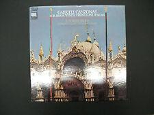 Gabrieli Canzonas The Edward Tar Brass Ensemble E.Power Biggs Vittorio Negri