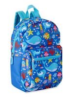 Kids SEA DOLPHIN Backpack Preschool Kindergarten School Book Bag in Blue PINK