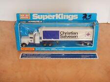 1978 MATCHBOX SUPER KINGS K-31 PETERBILT REFRIGERATION TRUCK, NOS