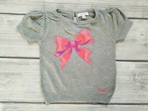 Exstore New Next Baby Girls Peach Pink Llama Long Sleeved Top Size 18-24M