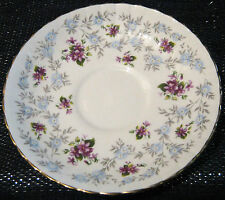 Royal Stafford Bone China saucer in the Enchanting pattern.  Approx 5 1/2 in dia